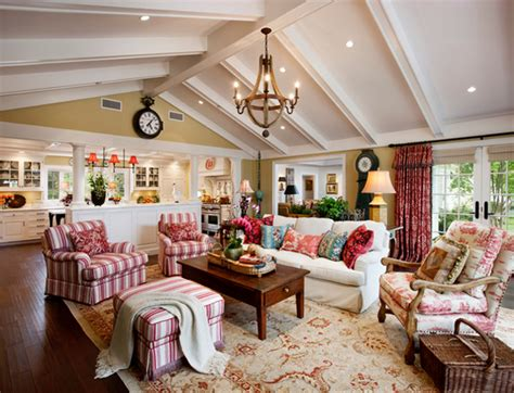 20 Dashing French Country Living Rooms  House Decorators