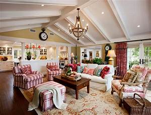 20 Dashing French Country Living Rooms - House Decorators ...