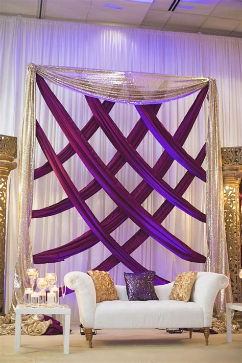 Burlap Shower Curtain by 696 Best Event Backdrop Decorations Wall Images On Pinterest