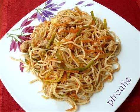 cuisiner pousse de soja nouilles asiatiques 2 versions végétariennes ou au