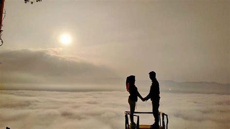 viral wisata negeri  atas awan gunung luhur  kawasan