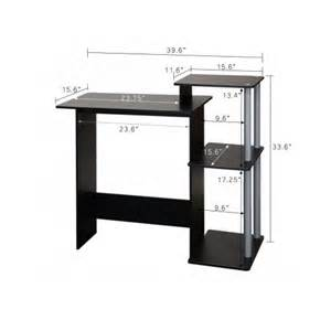 tight corner small computer furniture laptop desk home workstation space saving