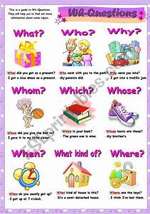This Is A Grammar Guide To Wh