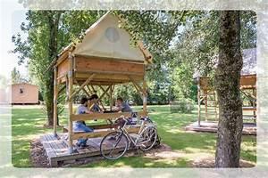 Cabane A Velo : camping tape loire v lo dormir en cabane ~ Carolinahurricanesstore.com Idées de Décoration