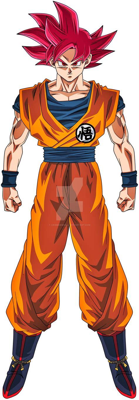 Goku SSJ(Universo 7) em 2020 Personagens de anime