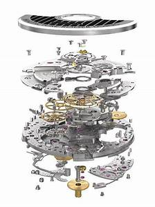Exploded View Of Watch Movements
