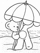 Coloring Pages Beach Sheets Umbrella Palm Summer Tree Bear Spring Trees Clipart Teddy Comgif Fun Clip Drawing Familycorner Hawaiidermatology Popular sketch template