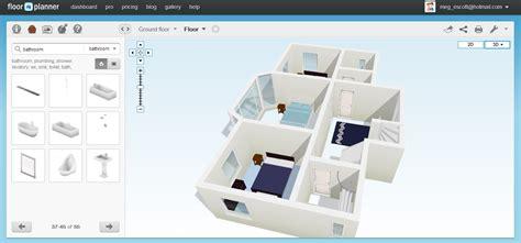Free Floor Planning by Free Floor Plan Software Floorplanner Review