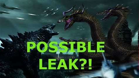 Godzilla 2  Possible Leaked Ghidorah Design Image!   YouTube