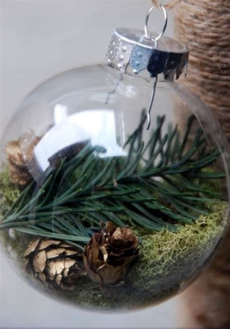 75 ways to fill clear glass ornaments homemade christmas ornaments refunk my junk