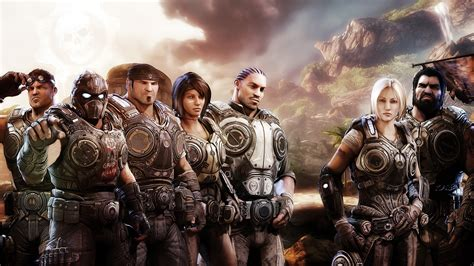 Gears Of War 3 Xbox Game Wallpapers Hd Wallpapers Id