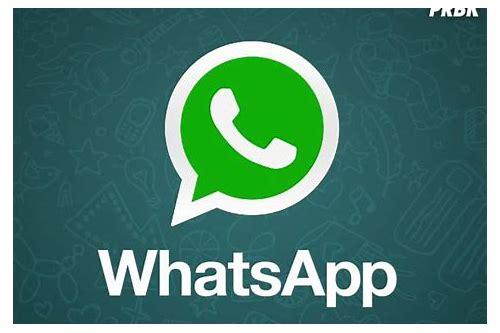 aplicativo do whatsapp baixam nova versão