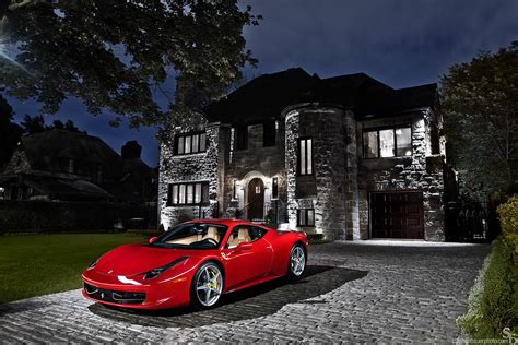 wealth ferrari  italia photographed july