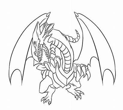 Dragon Coloring Eyes Pages Drawing Printable Lavagirl