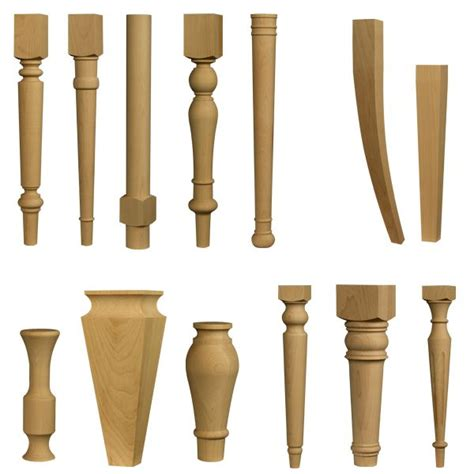 replacement dining room table legs wood furniture leg parts chairs seating