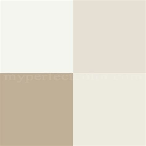 I'm going to show you how. Comparison of Swiss Coffee and Chantilly White for trim Scheme Created By Erin