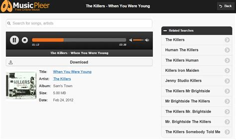 download lagu the killers mr brightside mp3