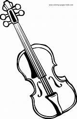 Coloring Violin Geige Ausmalbild Printable Violine Ausmalen Instruments Malvorlage Drawing Musical Fiddle Zum Musikinstrumente Sheets Sketch Basteln Instrumente Template Ausmalbilder sketch template