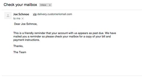 Follow Up Letter Sle For Payment by Friendly Reminder Payment Due Www Pixshark Images
