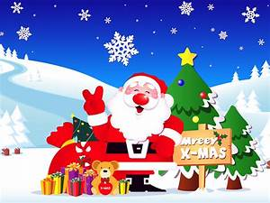 Christmas Cartoon Pictures - Christmas Day Wishes Or