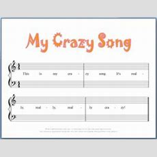 9 Free Printable Beginning Piano Composition Worksheets  Music  Free Printable Worksheets And