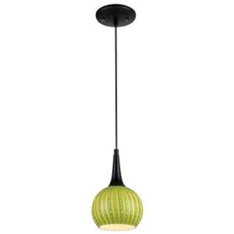westinghouse 1 light black adjustable mini pendant with