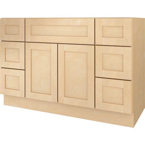 Ee  Bathroom Ee   Vanity Drawer Base Cabinet Natural Maple Shaker