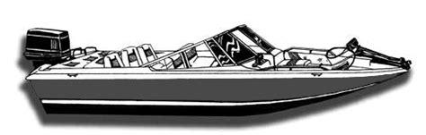 1999 Nitro Bass Boat Windshield by Semi Custom Cover For Fish Ski Style Boat With Walk Thru