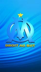 Olympique de Marseille : Logo 1 Wallpaper for iPhone X, 8 ...