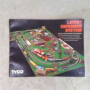 Vintage Tyco Layout Expander System Step