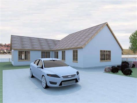 Self Build Bungalow Designs  The Checkley Houseplansdirect