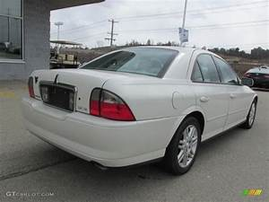 Ceramic White Tri Coat 2003 Lincoln Ls V8 Exterior Photo