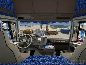 Blue Danish Interior for Scania New Generation