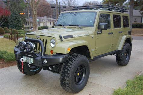commando green jeep lifted 2013 wrangler unlimited rubicon quot commando green