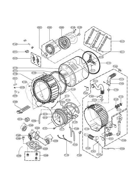 lg wmhvca washer pump motor genuine oem