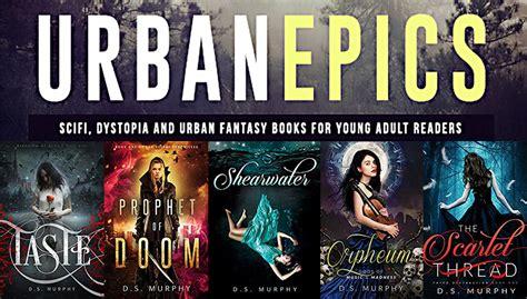 books fantasy ya urban angels starter library