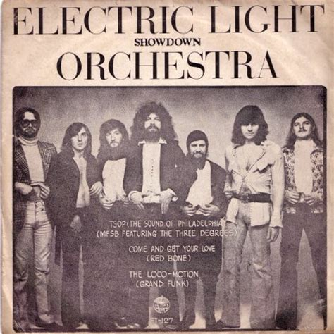 Electric Light Orchestra Showdown by Jeff Lynne Song Database Electric Light Orchestra