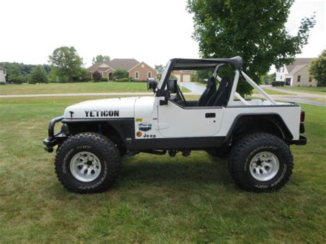 jeep wrangler automatic 1991 jeep wrangler yj convertible chevy 327 v8 th350