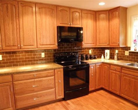 Honey Oak Cabinets Ideas, Pictures, Remodel and Decor