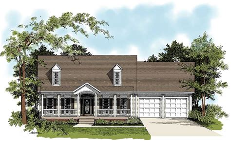 Traditional Country Home by Traditional Country Home Plan 2083ga Architectural