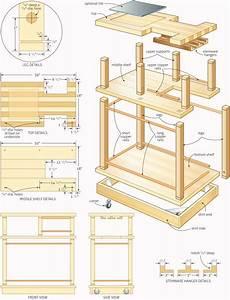 rolling bar woodworking plans - WoodShop Plans