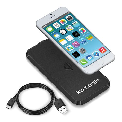 wireless charger for iphone 6 kwmobile wireless charging station for apple iphone 6 6s 18265