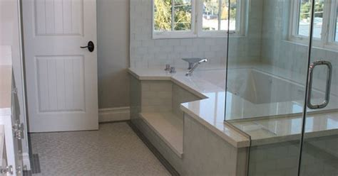 step  roman tub shower combination dream bathrooms