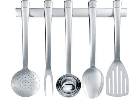 ustensiles de cuisine en p ustensiles de cuisine 6 éléments brabantia 360008 s line