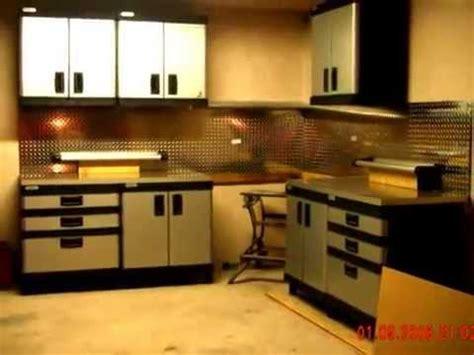 Stanley Garage by Stanley Workshop Wall Cabinet Garage Improvements