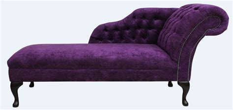 purple chaise lounge chesterfield chaise lounge day bed velluto amethyst purple