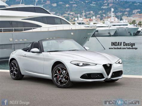 Alfa Romeo Spider: il render che fa paura a Bmw e Mercedes