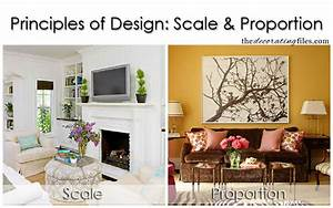 Principles of Design: Scale & Proportion. One of the basic ...