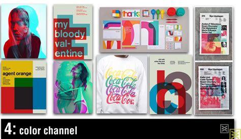 colors channel 4 color channel philip vandusen trend of graphic design