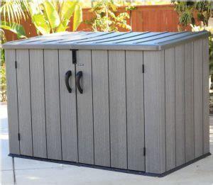 lifetime horizontal shed lifetime horizontal storage sheds quality plastic sheds
